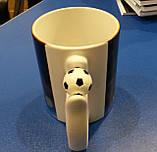 """Чашка с футбольным мячиком на ручке """"Ronaldo"""", фото 4"""