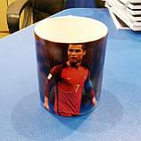 """Чашка с футбольным мячиком на ручке """"Ronaldo"""", фото 5"""