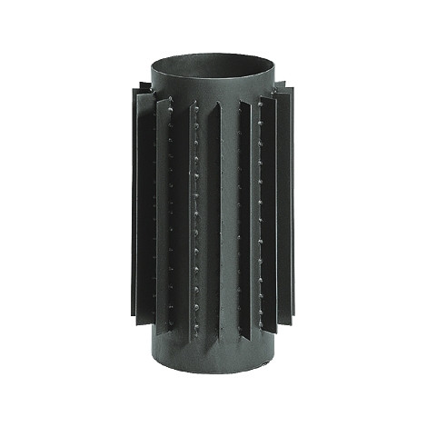 Труба радиатор для дымохода KAISER PIPES (2мм) 0,5м Ø200