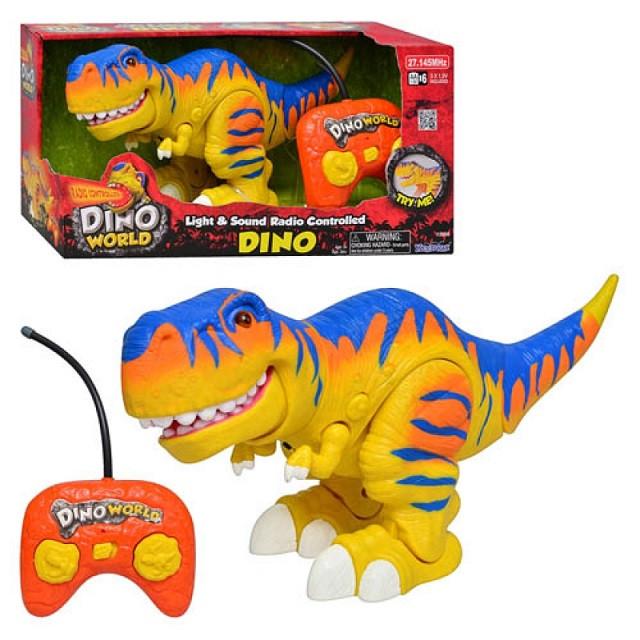 Игрушка динозавр на пульте управления 13508