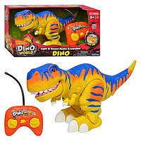 Динозавр Рекс мызыкальный для малышей на радиоуправлении интерактивный свет звук