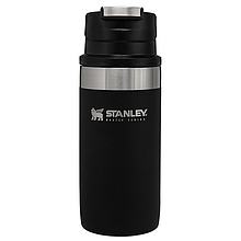 Термокружка металева для чаю і кави Stanley Master Trigger-Action Foundry (0,35 л), чорна