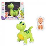 Інтерактивна іграшка динозавр музичний на пульті управління ZYA-A2743-2, фото 2