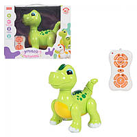 Динозавр Рекс для малышей на пульте дистанционного управления танцует