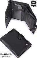 Мужской кошелек, портмоне из натуральной кожи Dr.Bond ЕК26