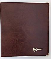 Альбом для монет CROWN ROYAL на 221 ячейку с металлическими уголками Коричневый (nujjn9)