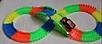 Детская гибкая гоночная дорога MagicTracks 220 деталей светится меджик, фото 3