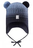 Зимние шапки Reima Sammal, синяя
