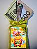 Магнит оберег Мешок с деньгами. Мышка. Крыса. Символ года 2020