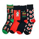 Новогодний набор мужских носков 4 пары, фото 2
