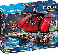Плеймобил Пиратский боевой корабль — череп 70411 Playmobil Pirates  Skull Fighting Ship, фото 1