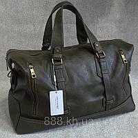 Чоловіча сумка David Jones, дорожня сумка для відряджень, містка сумка для поїздок, шкіряна сумка, фото 1