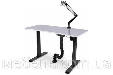 Регулируемый геймерский стол Barsky StandUp Memory + кабель менеджмент + кронштейн BSU_el-08/BCM-01/BF-01, фото 2