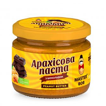 Арахісова Паста з шоколадом, Майстер Боб, 200г.
