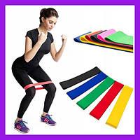 Фитнес резинки 5 в 1 Esonstyle, набор резинок для фитнеса, Эспандер домашний тренер