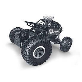 Автомобіль OFF-ROAD CRAWLER на р/у – MAX SPEED (матовий чорний, метал. корпус, 1:18) SL-112RHMBl