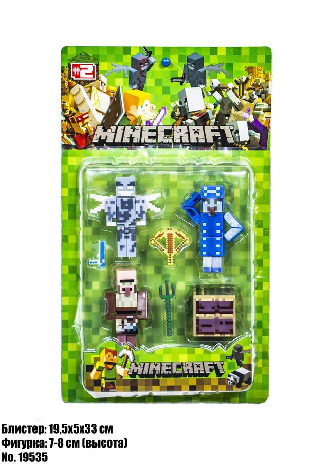 Набор фигурок Minecraft P19535