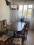 3Д панели самоклеющиеся для стен под кирпич рельефный Серебро, 7 мм, фото 3