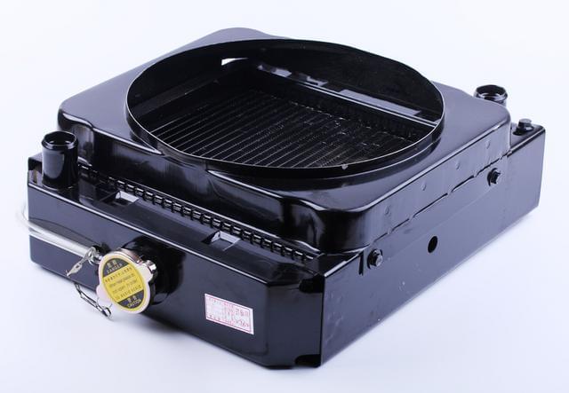 Радиатор TY2100 Xingtai 244 КОД  7201