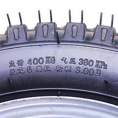 Колесо в сборе 4.00*14 (под 5 болтов) - мототрактор КОД  3917