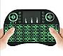 Беспроводная мини Клавиатура с подсветкой тачпадом и LED пультСмарт TV, фото 5