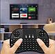 Беспроводная мини Клавиатура с подсветкой тачпадом и LED пультСмарт TV, фото 6