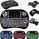 Беспроводная мини Клавиатура с подсветкой тачпадом и LED пультСмарт TV, фото 7