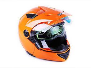 Шлем MD-900 оранжевый (трансформер) size M - VIRTUE КОД  2519