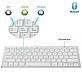 Клавиатура беспроводная WIRELESS BLUETOOTH Keyboard мини удобная, фото 7