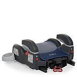 Автомобильный бустер RORO Isofix Navy 1144 детский, автокресло, изофикс, с подлокотником и подстаканником, фото 2