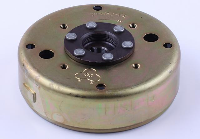 Магнето на скутер  генератора 50 куб четырехтактный КОД 1158