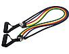Набор эспандеров (еспандер)трубчатый набор для фитнеса фитнес рези 5шт, фото 3