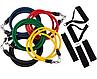 Набор эспандеров (еспандер)трубчатый набор для фитнеса фитнес рези 5шт, фото 5