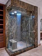 Ванные комнаты в мраморе Имперадор Дарк (Emperador Dark)