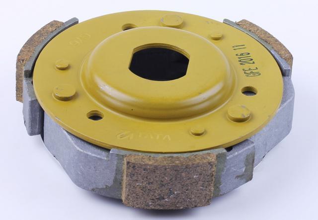 Колодки на скутер  вариатора заднего (сцепления) 125/150 куб  КОД 1055