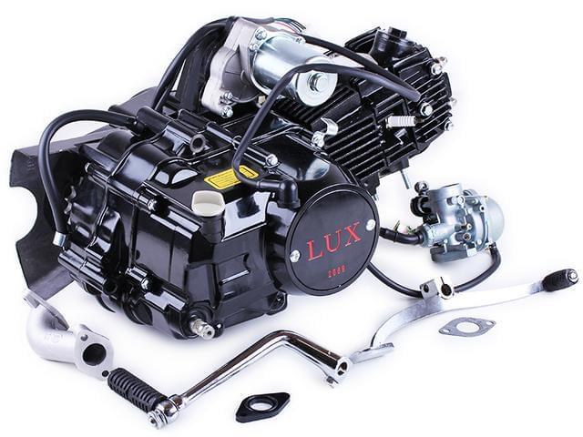 Двигатель Актив 110CC полуавтомат BLACK (с карбюратором) - TATA LUX КОД  2569