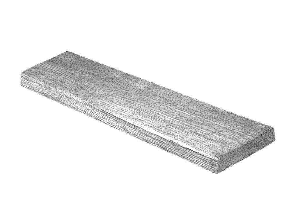 Панель Decowood модерн 19х3,5см сіре дерево (2м)