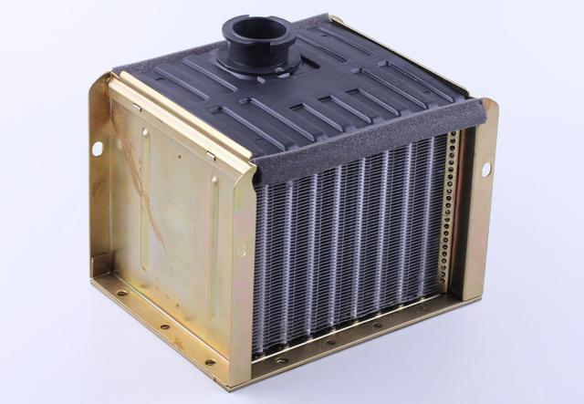 Радиатор алюминий (ZUBR original) - 195N КОД  3765