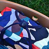 Стильный городской, школьный рюкзак канкен для девочки Fjallraven Kanken classic 16 л камуфляж, фото 10