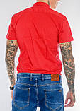 Мужская рубашка Gelix 1237003 красная, фото 2