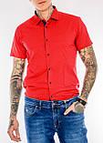 Мужская рубашка Gelix 1237003 красная, фото 4