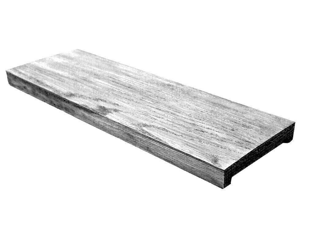 Панель Decowood модерн 17х3см серое дерево