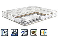 Ортопедический матрас Cappuccino Soft Plus / Капучино Софт Плюс на независимых пружинах от Матролюкс Matroluxe