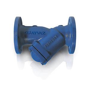 Фильтр фланцевый для воды PTY-30 Ayvaz DN 50