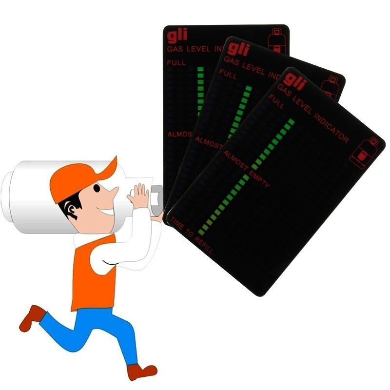 Индикатор уровня газа в баллоне или баке авто