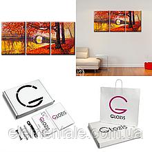 Модульная Картина 3 шт Glozis Golden Autumn D-049 50 х 35 см