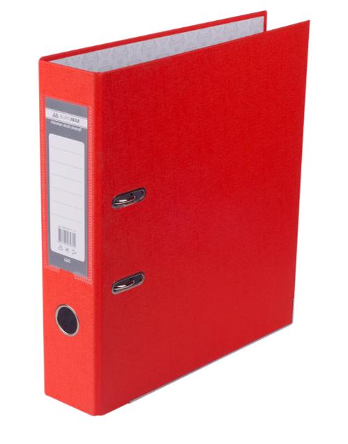 Папка регистратор LUX односторонняя JOBMAX A4, 70 мм, апельсин