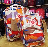 Модный женский рюкзак-сумка канкен Fjallraven Kanken classic 16 л камуфляж, фото 4