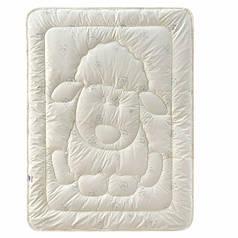 """Детское одеяло зимнее Wool Classic (Овечья шерсть) тм """"Идея"""" 100х135 см"""