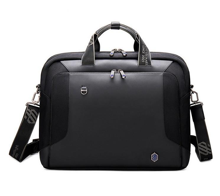 """Деловая сумка через плечо Arctic Hunter GW0004, для ноутбука до 15"""" из водоотталкивающей ткани, 15л"""